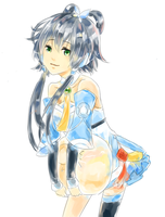 Chinese Vocaloid TianYi by milysnow