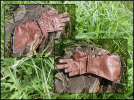 Leather Archery Glove by LeatherCraft