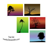 Vector tree set by freeda