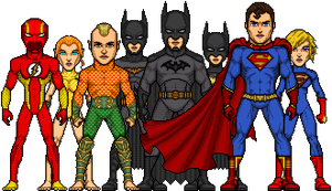 JLA: My version by UndefinedScott