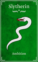 Slytherin by Nelde