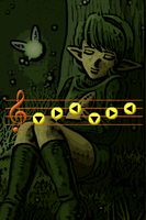 Saria's Song iPhone bg by gameover89