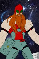 Space Thorr flat colors by FG-Arcadia