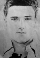 Josh Hutcherson drawing by joksie