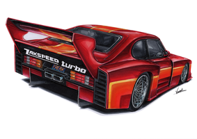 Ford Capri Zakspeed Turbo Street by vsdesign69