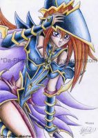 Dark Magician Girl stylee by PhaseChan