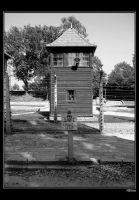 Tower in Auschwitz by H8me-CZ
