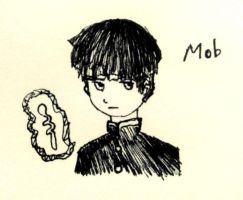 Inktober Day 2 - Mob by solcastle