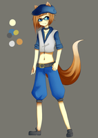 Fox character adopt Open by Adoptaburs