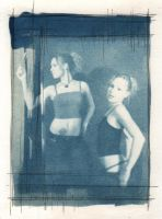 Duality - Cyanotype by bcduncan