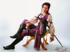 Gunpoweder Rose Lady Pirate cosplay costume PotC by Volto-Nero-Costumes