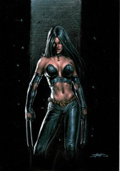X23 on black by LucaStrati