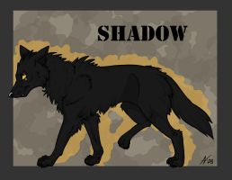 Shadow wolf by branka42
