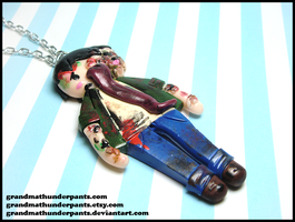 L4D Smoker Necklace by GrandmaThunderpants