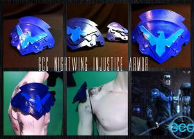 GCC Nightwing Injustice Armor by Cadmus130