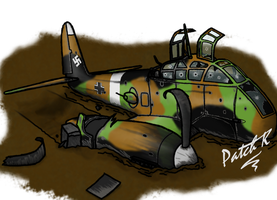 Wrecked Hornisse - Coloured by PatchKatz