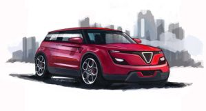 Alfa suv Sketch by Wesker250