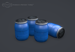 Plastic barrels by Bula17