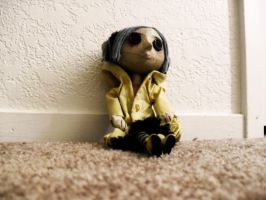 Coraline Doll by inceptiontakdream