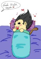 Good Night Vegeta_Colored by VegetasLittleLover