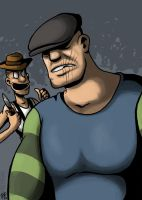 The Goon: Goon and Franky by Spookaboo