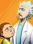 Rick and Morty by seandunkley