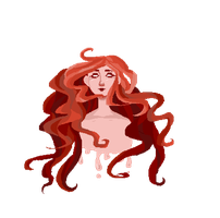 aradia the friendly ghost by Rasberryseed