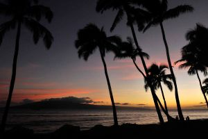 Maui sunset 1 by wildplaces