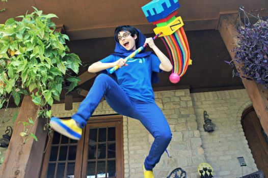 John Egbert: God Tier by DascocoCosplay
