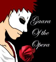 Gaara of the Opera Teaser by LetItBeRiceball