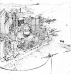 Cityscape 3pt Perspective by billydallaspatton