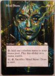 Magic the Gathering alter: Mind Stone by Ondal-the-Fool
