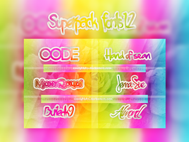 Fonts 1.2 by CandyBiebs
