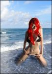 playboy bikini beach by Countess-Grotesque