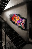 graffiti effect by stijn