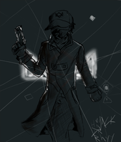 Aiden pearce by Jkey4127