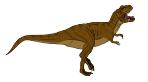 Female Tyrannosaurus concept by beastisign