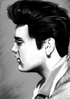 Elvis Aaron Presley by 79ChristinaS
