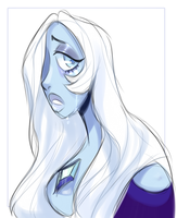 Steven Universe - Blue Diamond by lizardwow