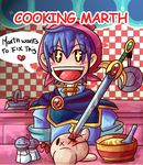 Cooking Marth by Figuritas