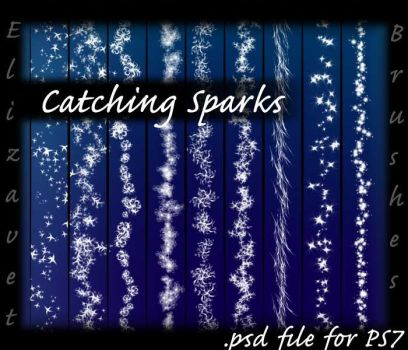 CatchingSparks_PSD_pack by ElizavetBrushes