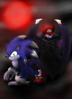Vamplumber and Werehog by Cloba94
