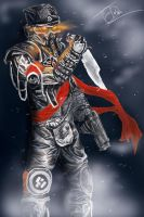 Colonel Radec by glitchingyoursystem
