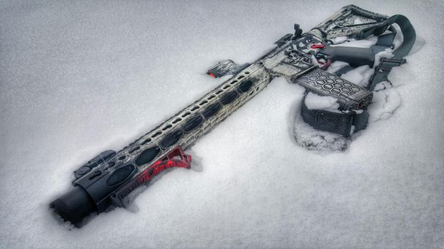 Hoth Blaster - HDR by fixer