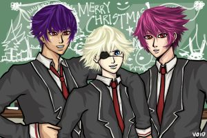 Late Christmas Greeting from My Favorite Boys by BunnyVoid