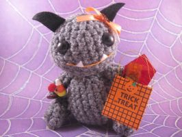 Halloween Candy Monster by AmiTownCreatures