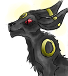 Realistic Umbreon by Catcarcass