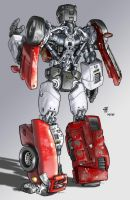 Alternators Sideswipe by Spydormonkey