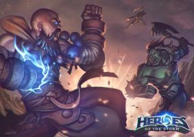 Heroes of The Storm Contest by Gubrutsky2011