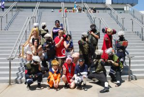 Naruto Gathering: Team 7, part 1 by miss-a-r-t